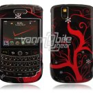 Winter Snowflake Design Hard Case for BlackBerry Tour 9600/9630
