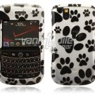Dog Paws Design Hard Case for BlackBerry Tour 9600/9630