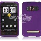 Purple Soft Cover for HTC EVO 4G (Sprint)