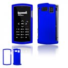 """Blue Hard """"Glossy/Shiny Smooth"""" 2-Pc Faceplate Case for Sanyo Incognito 6760 (Sprint)"""