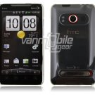 """Clear Hard 1-Pc """"Back/Rear"""" Case for HTC EVO 4G (Sprint)"""