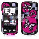 Butterfly Design Hard 2-Pc Snap On Case for HTC Droid Eris (Verizon Wireless)