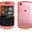 """Baby Pink Hard """"Glossy/Shiny Smooth"""" 2-Pc Faceplate Case for BlackBerry Curve 8520/8530"""