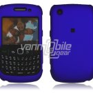 """Blue Hard """"Rubber Feel"""" 2-Pc Faceplate Case for BlackBerry Curve 8520/8530"""