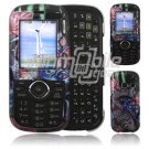 Koi Fish Design Hard 2-Pc Snap On Faceplate Case for LG Cosmos/LG Rumor 2 (Verizon/Sprint)
