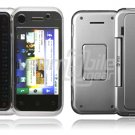 Clear 2-Pc Hard Snap On Case for Motorola BackFlip (AT&T)