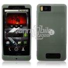 Clear Soft Silicone Skin Cover Case for Motorola Droid X (Verizon Wireless)
