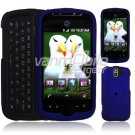 Blue Hard 2-Pc Snap On Faceplate Case for myTouch 3G Slide (T-Mobile)
