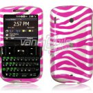 Pink/Silver Design Hard Case for HTC Ozone XV6175 (Verizon Wireless)