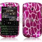 Pink Giraffe Design Hard Case for HTC Ozone XV6175 (Verizon Wireless)
