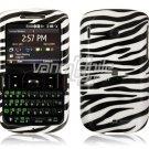 Black/White Zebra Design Hard Case for HTC Ozone XV6175 (Verizon Wireless)