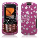 PINK STARS DESIGN CASE COVER for MOTOROLA CLUTCH PHONE