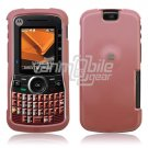 BABY PINK SMOOTH CASE COVER 4 MOTOROLA CLUTCH PHONE 465