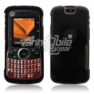 BLACK GLOSSY HARD CASE COVER for MOTOROLA CLUTCH PHONE