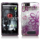 SQUIGGLY FLOWER DESIGN ACCESSORY for MOTOROLA DROID X