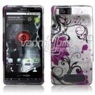 PINK LOTUS FLOWER HARD CASE for MOTOROLA DROID X