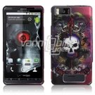 LION SKULLS DESIGN CASING HOUSING for DROID X PHONE 810