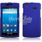BLUE HARD PLASTIC SKIN CASE for SAMSUNG CAPTIVATE PHONE