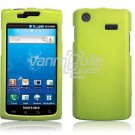 NEON GREEN HARD PLASTIC SKIN CASE for SAMSUNG CAPTIVATE PHONE