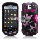 PINK BLACK BFLY HARD SKIN CASE COVER for SAM INTERCEPT
