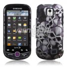 BLACK SILVER SKULL CASING HOUSING for SAMSUNG INTERCEPT