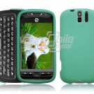 TURQUOISE PREMIUM HARD SNAP ON CASE for MYTOUCH SLIDE
