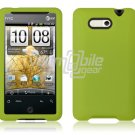 LIME GREEN SILICON CASE COVER for HTC ARIA PHONE SKIN