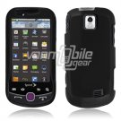BLACK HARD 2-PC RUBBERIZE PLASTIC CASE fr SAM INTERCEPT