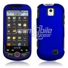 BLUE HARD 2-PC RUBBERIZE PLASTIC CASE fr SAM INTERCEPT