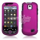 HOT PINK HARD 2-PC RUBBERIZE PLASTIC CASE fr SAM INTERCEPT