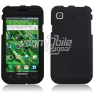 BLACK HARD 2-PC CASE COVER for SAMSUNG VIBRANT T959 959