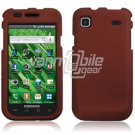 DARK RED HARD 2-PC CASE COVER for SAMSUNG VIBRANT T959 959