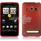 RED HARD 1-PC CASE for HTC EVO PHONE