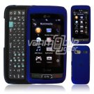 BLUE HARD 2-PC CASE COVER for LG VU PLUS PHONE GR 700