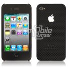 BLACK HARD 1-PC MATRIX DESIGN CASE for APPLE IPHONE 4 OS