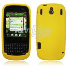 YELLOW SOFT SILICONE SKIN CASE COVER for PALM PIXI GEL