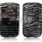 Black/SILVER Zebra Design Hard Case for HTC Ozone XV6175 (Verizon Wireless)