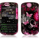 PINK BUTTERFLY Design Hard Case for HTC Ozone XV6175 (Verizon Wireless)