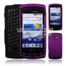 PURPLE FACE PLATE CASE for VERIZON LG ALLY SKIN