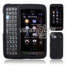 BLACK HARD 2-PC CASE COVER for LG VU PLUS PHONE GR 700