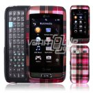 PINK PLAID CASE for LG VU PLUS ATT