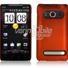 ORANGE HARD 1-PC ACCESSORY CASE for HTC EVO 4G PHONE