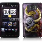 SNAKE SKULL DESIGN 1-PC CASE COVER for TMOBILE HTC HD2 NR