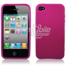 PINK HARD CASE for APPLE IPHONE 4 OS