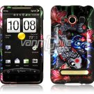 KOI FISH DESIGN FACE PLATE CASE for SPRINT HTC EVO 4G