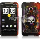 LION SKULL DESIGN FACE PLATE CASE for SPRINT HTC EVO 4G