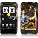 SNAKE SKULL FACE PLATE CASE for SPRINT HTC EVO 4G