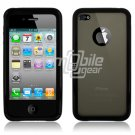 BLACK SMOKE BUMPER CASE for IPHONE 4 4OS