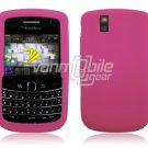 PINK SOFT SILICONE SKIN CASE for BLACKBERRY BOLD 9650 BB