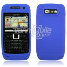 BLUE GRIP SOFT SILICONE RUBBER GEL SKIN 4 NOKIA E71 71X